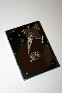 hard drive from a desktop computer